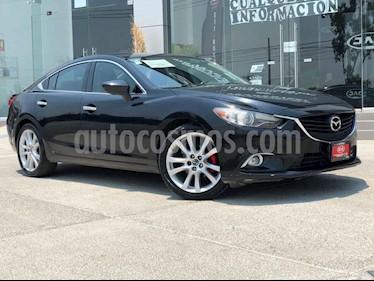 Mazda 6 4p i Grand Touring L4/2.5 Aut usado (2014) color Negro precio $195,000