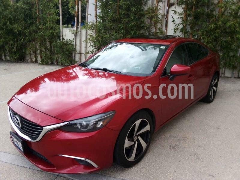 Mazda 6 i Grand Touring Plus usado (2016) color Rojo precio $227,000