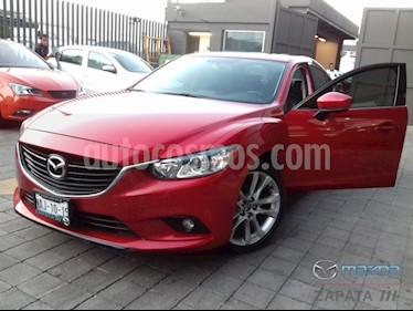 Mazda 6 i Grand Touring Aut usado (2017) color Rojo Sangria precio $275,000
