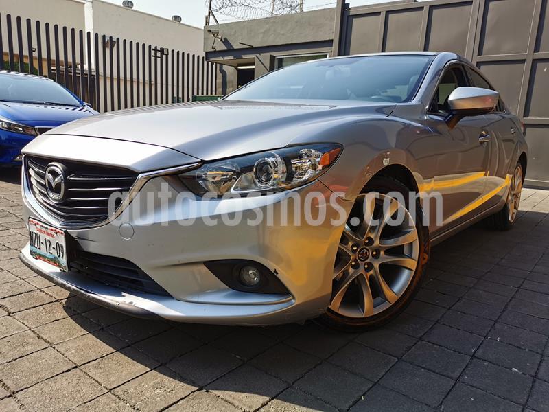 Mazda 6 i Grand Touring Aut usado (2017) color Plata precio $235,000