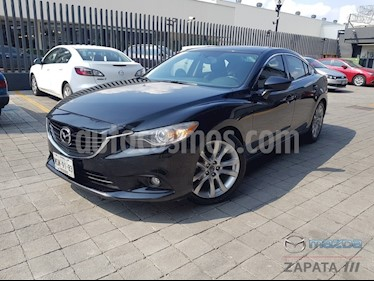 Mazda 6 s Grand Touring  usado (2015) color Negro precio $210,000