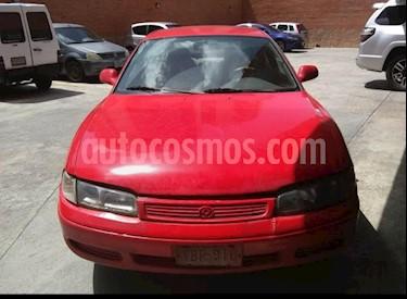 Mazda 626 GLX Sinc. usado (1993) color Rojo precio u$s1.300