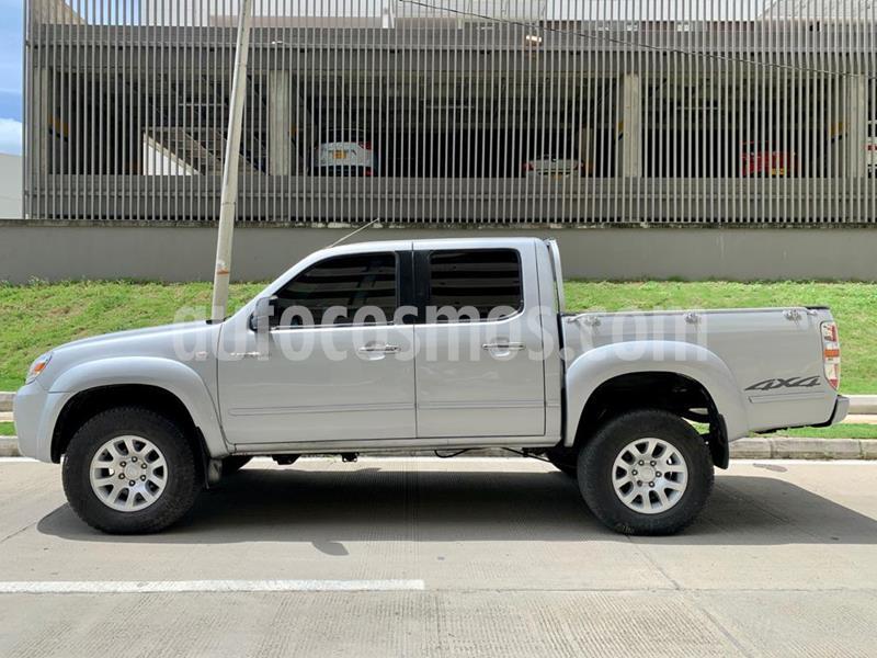 Mazda BT-50 Doble Cabina 2.5L 4x4 Di usado (2010) color Plata Sorrento precio $36.000.000