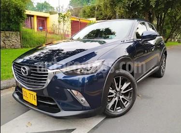 Mazda CX-3 Grand Touring 4x2 Aut usado (2017) color Azul Metalico precio $67.900.000