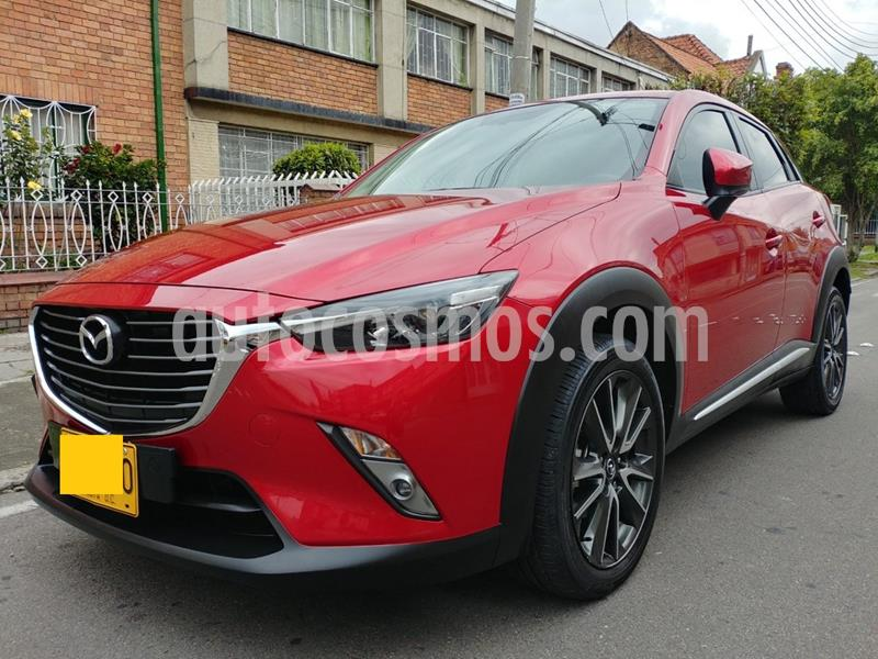 Mazda CX-3 Grand Touring 4x2 Aut usado (2017) color Rojo precio $34.100.000
