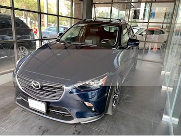 Foto venta Auto usado Mazda CX-3 i Grand Touring (2019) color Azul Marino precio $355,000