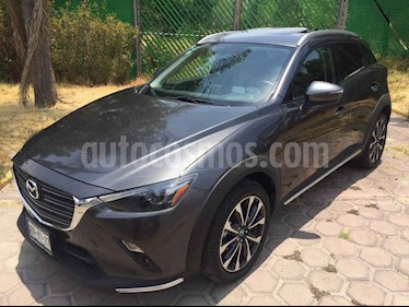 Foto venta Auto usado Mazda CX-3 i Grand Touring (2019) color Gris precio $377,000