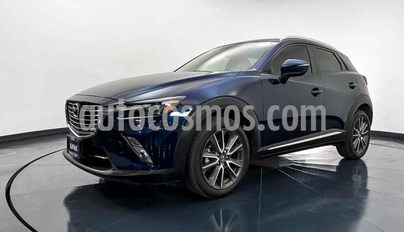 Mazda CX-3 i Grand Touring usado (2017) color Azul precio $292,999