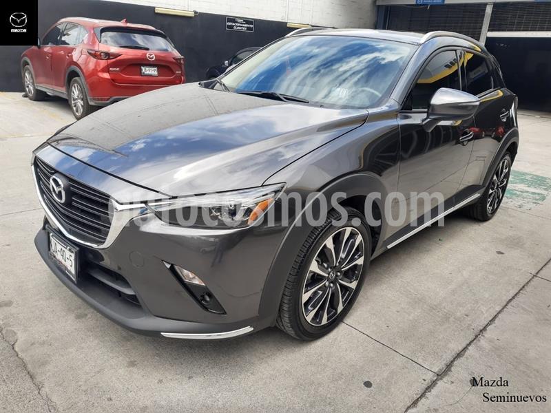 Mazda CX-3 i Grand Touring usado (2019) color Gris Meteoro precio $324,900