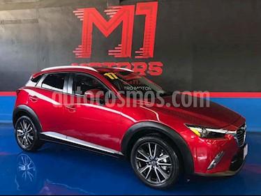 Mazda CX-3 i Grand Touring usado (2017) color Vino Tinto precio $289,500