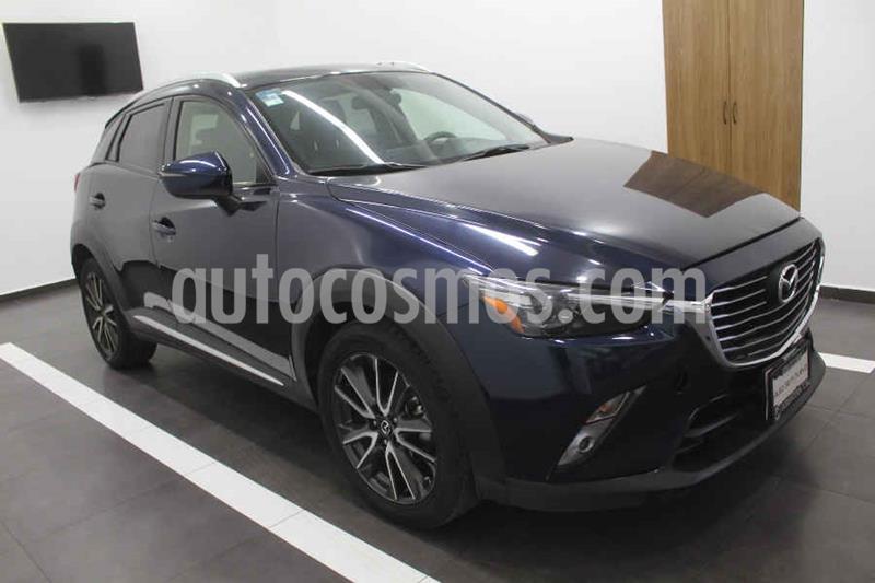 Mazda CX-3 i Grand Touring usado (2017) color Azul precio $259,000