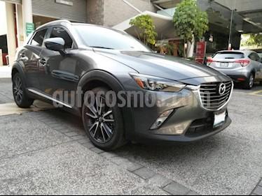 Mazda CX-3 5P I GRAND TOURING 2.0L TA PIEL QC RA-18 usado (2018) color Gris precio $299,000