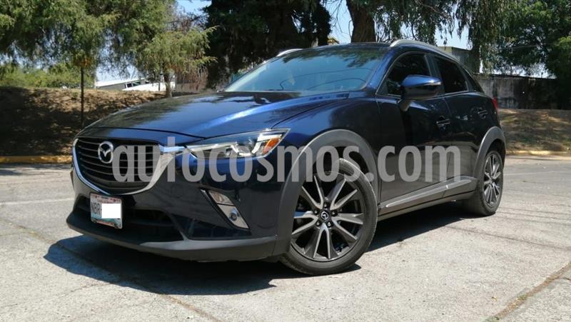 Mazda CX-3 i Grand Touring usado (2017) color Azul precio $225,000