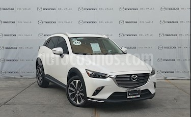 Mazda CX-3 i Grand Touring usado (2019) color Blanco precio $360,000