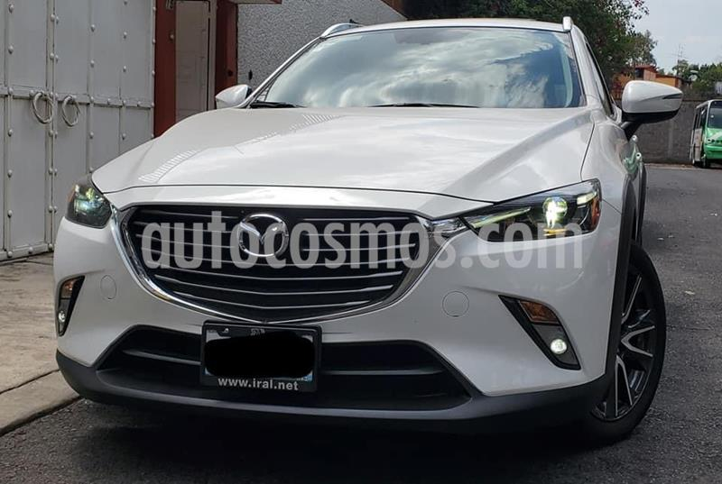 Mazda CX-3 i Grand Touring usado (2017) color Blanco Cristal precio $270,000