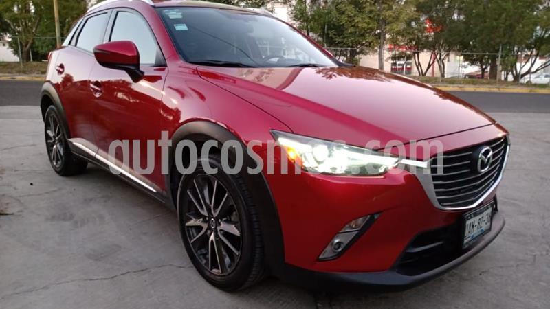Mazda CX-3 i Grand Touring usado (2017) color Rojo precio $270,000