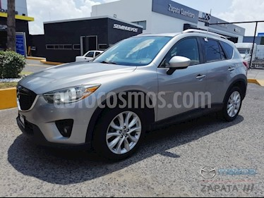 Foto venta Auto usado Mazda CX-5 2.0L i Grand Touring (2015) color Aluminio precio $245,000
