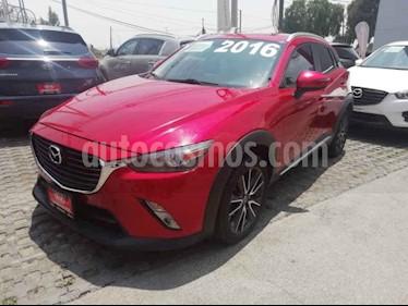 Foto venta Auto usado Mazda CX-5 2.0L i Grand Touring (2016) color Rojo precio $249,000
