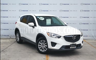 Foto venta Auto usado Mazda CX-5 2.0L i Sport (2015) color Blanco Perla precio $260,000