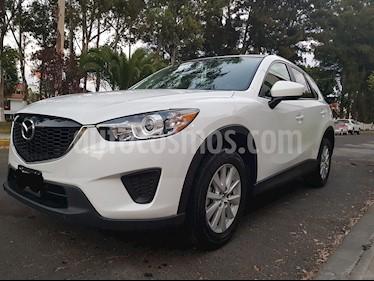 Mazda CX-5 2.0L i Sport usado (2014) color Blanco Perla precio $225,000