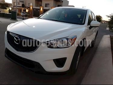 Mazda CX-5 2.0L i usado (2014) color Blanco precio $190,000