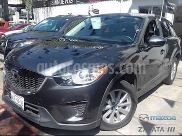 Foto venta Auto usado Mazda CX-5 2.0L iSport (2014) color Gris Meteoro precio $245,000