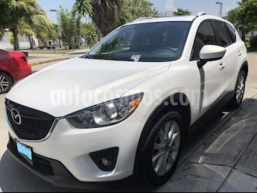 Foto venta Auto usado Mazda CX-5 2.5L S Grand Touring 4x2 (2014) color Blanco precio $235,000