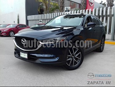 foto Mazda CX-5 2.5L S Grand Touring 4x2 usado (2018) color Azul Marino precio $415,000