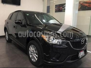 Foto Mazda CX-5 5P I SPORT 2.0L TA VOLANTE/PIEL RA-17 usado (2015) color Negro precio $249,000