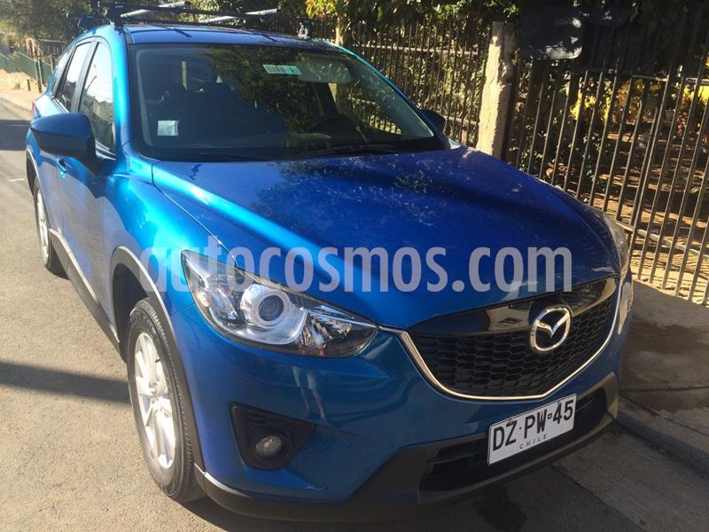 foto Mazda CX-5 2.0L R 4x4 Aut usado (2012) color Azul precio $4.200.000
