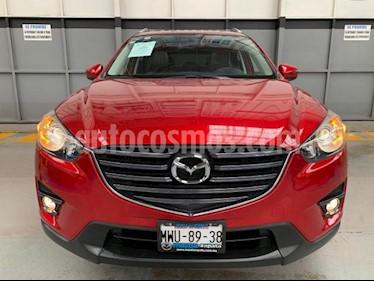 Mazda CX-5 5P I GRAND TOURING 2.0L TA PIEL QC F. NIEBLA RA-1 usado (2016) color Rojo precio $270,000