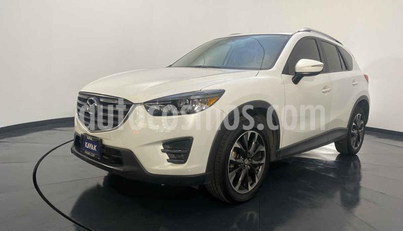 Mazda CX-5 2.5L S Grand Touring 4x2 usado (2016) color Blanco precio $302,999