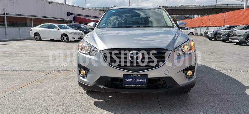 Mazda CX-5 i Grand Touring  usado (2016) color Plata precio $269,000