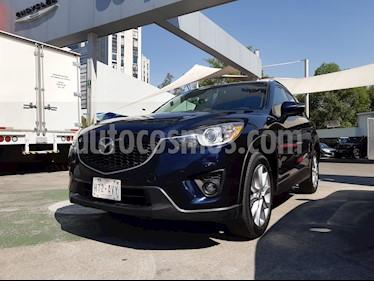 Mazda CX-5 2.5L S Grand Touring usado (2015) color Azul Marino precio $248,000