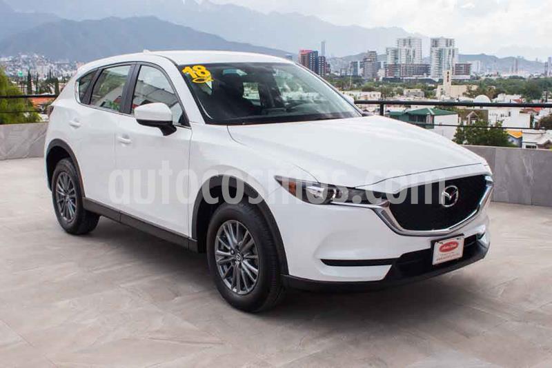 Mazda CX-5 2.0L i Sport usado (2018) color Blanco precio $339,700
