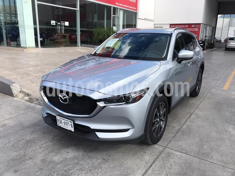Mazda CX-5 2.0L i Grand Touring usado (2018) color Gris precio $350,000