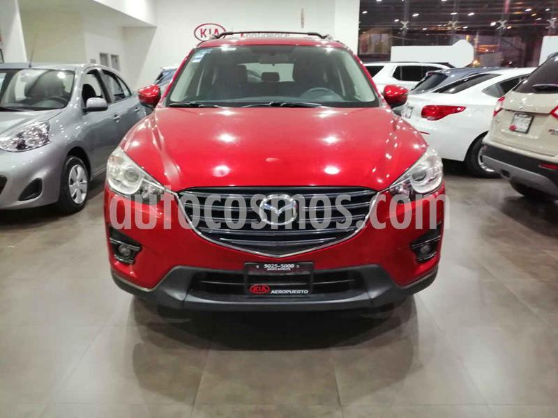 Mazda CX-5 2.0L i Sport usado (2016) color Rojo precio $259,000
