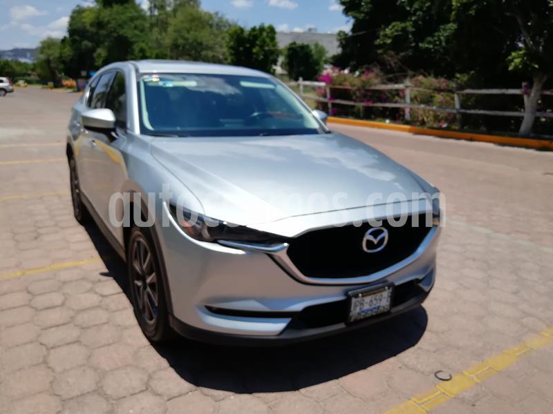 Mazda CX-5 i Grand Touring  usado (2018) color Plata precio $352,000