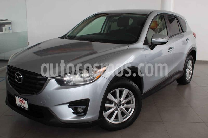 Mazda CX-5 2.0L i Grand Touring usado (2016) color Plata precio $246,000