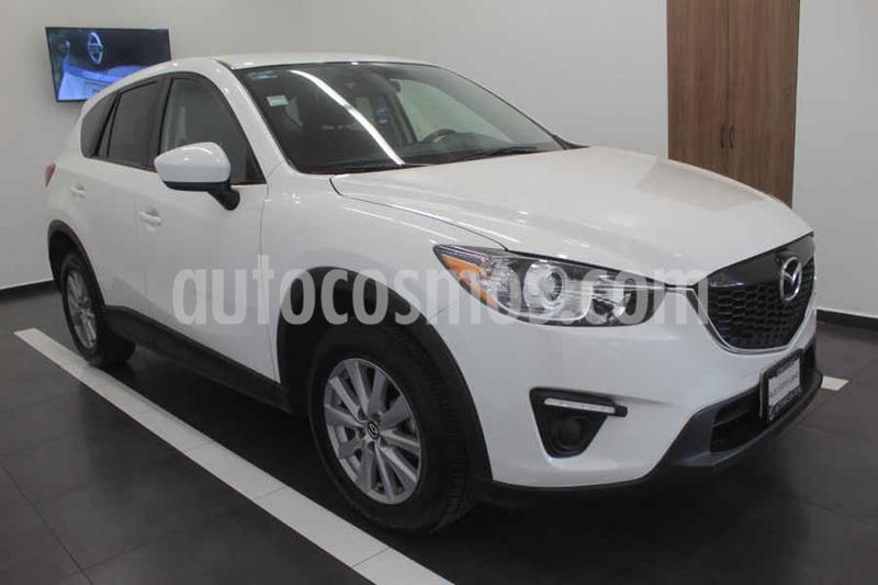 Mazda CX-5 2.0L i Sport usado (2015) color Blanco precio $219,000