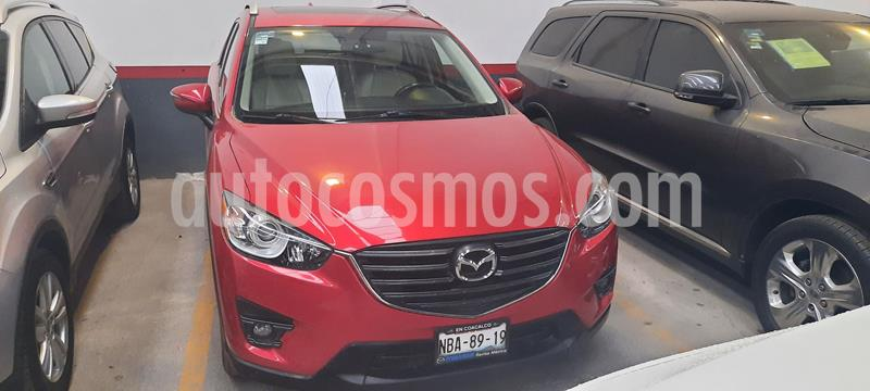 Mazda CX-5 2.0L i Grand Touring usado (2016) color Rojo precio $293,000