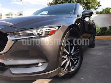 Mazda CX-5 2.5L S Grand Touring usado (2018) color Gris Titanio precio $370,000