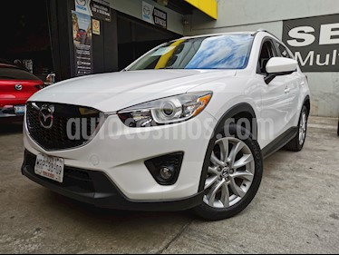 Mazda CX-5 2.0L i Grand Touring usado (2014) color Blanco Cristal precio $250,000