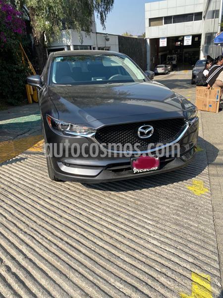 Mazda CX-5 2.0L i Sport usado (2018) color Gris Titanio precio $345,000