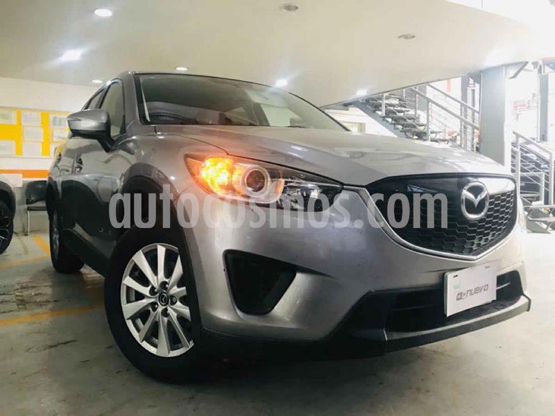 Mazda CX-5 2.0L i Sport usado (2015) color Verde precio $219,000