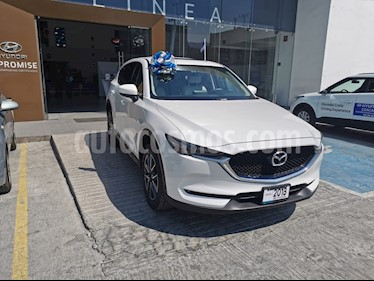 Mazda CX-5 2.0L i Grand Touring usado (2018) color Blanco precio $369,000