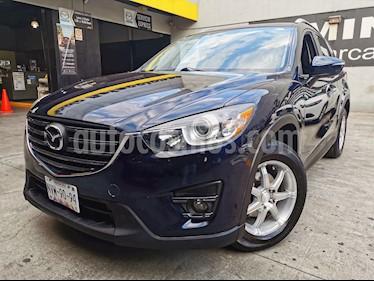 Mazda CX-5 2.0L i Grand Touring usado (2016) color Azul Marino precio $275,000
