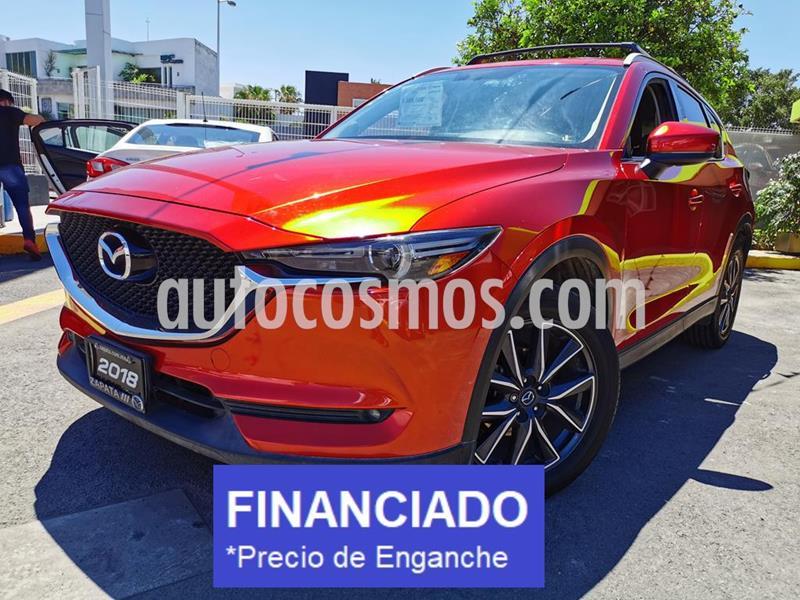 Mazda CX-5 2.5L S Grand Touring usado (2018) color Rojo precio $86,000