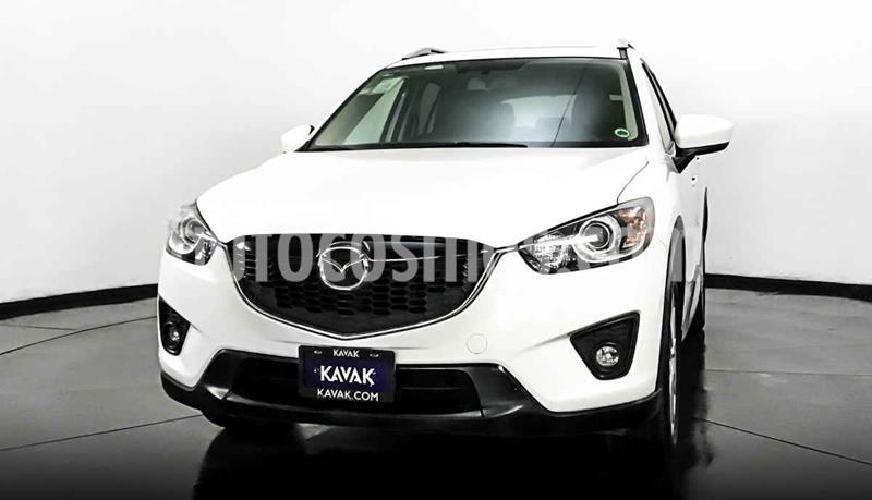 Mazda CX-5 2.5L S Grand Touring 4x2 usado (2014) color Blanco precio $252,999