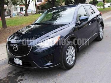 Mazda CX-5 2.0L i Sport usado (2015) color Azul precio $239,000